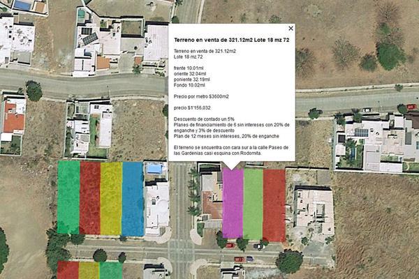 Foto de terreno habitacional en venta en paseo de las gardenias 18, paseo de la hacienda, colima, colima, 0 No. 01