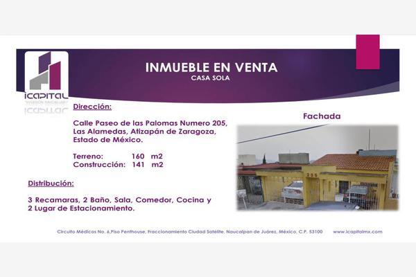 Foto de casa en venta en paseo de las palomas 205, las alamedas, atizapán de zaragoza, méxico, 5976675 No. 01