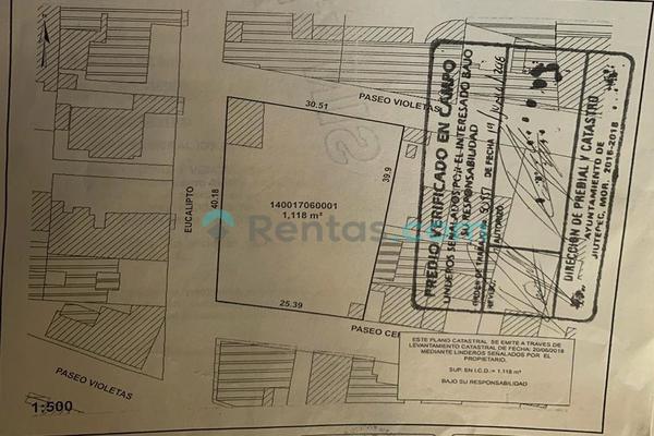 Foto de terreno comercial en renta en paseo eucalipto, esquina paseo de violetas lote 1 manzana 9 , condominios bugambilias, cuernavaca, morelos, 20396963 No. 11