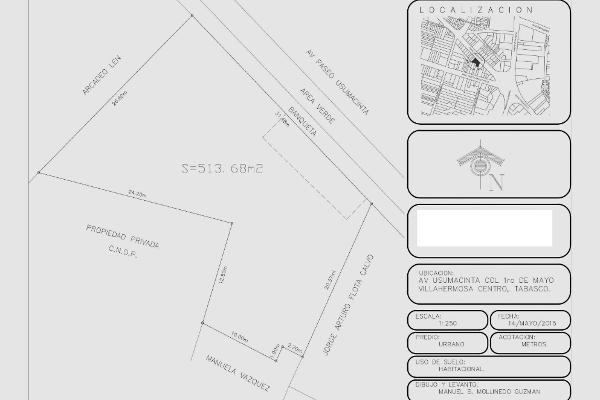 Foto de terreno habitacional en renta en paseo usumacinta 111 , lagunas de mecoacan, centro, tabasco, 5948940 No. 07