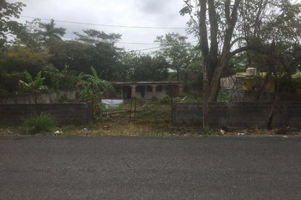 Foto de terreno habitacional en venta en  , pechucalco 1a secc, cunduacán, tabasco, 7167689 No. 01