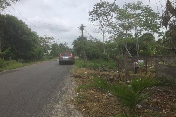 Foto de terreno habitacional en venta en  , pechucalco 1a secc, cunduacán, tabasco, 7167689 No. 02