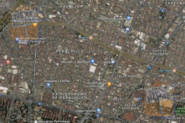 Foto de terreno habitacional en venta en  , peralvillo, cuauhtémoc, df / cdmx, 0 No. 03