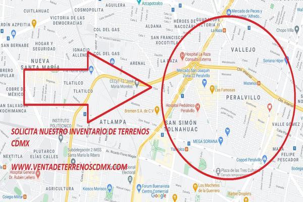 Foto de terreno habitacional en venta en peralvillo , peralvillo, cuauhtémoc, df / cdmx, 0 No. 01