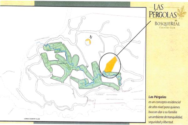 Foto de terreno habitacional en venta en pergolas , bosque real, huixquilucan, méxico, 15226523 No. 02