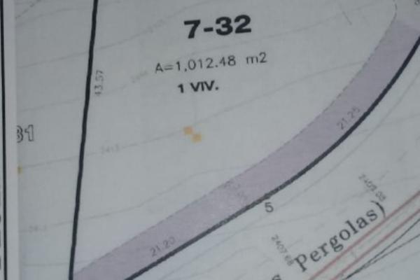 Foto de terreno habitacional en venta en pérgolas lt. 7, manzana 10 , bosque real, huixquilucan, méxico, 6190067 No. 05