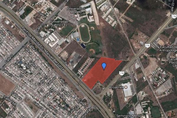 Foto de terreno comercial en venta en periférico cholul , san pedro cholul, mérida, yucatán, 3162940 No. 01