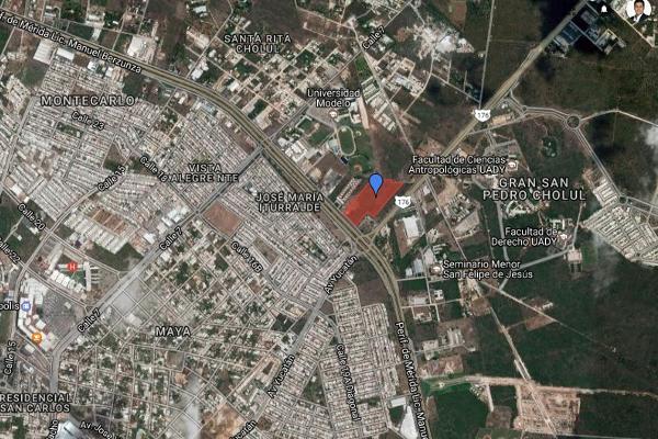 Foto de terreno comercial en venta en periférico cholul , san pedro cholul, mérida, yucatán, 3162940 No. 02
