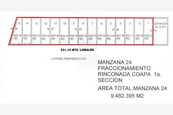 Foto de terreno habitacional en venta en periferico sur 7461, rinconada coapa 1a sección, tlalpan, df / cdmx, 3621401 No. 06
