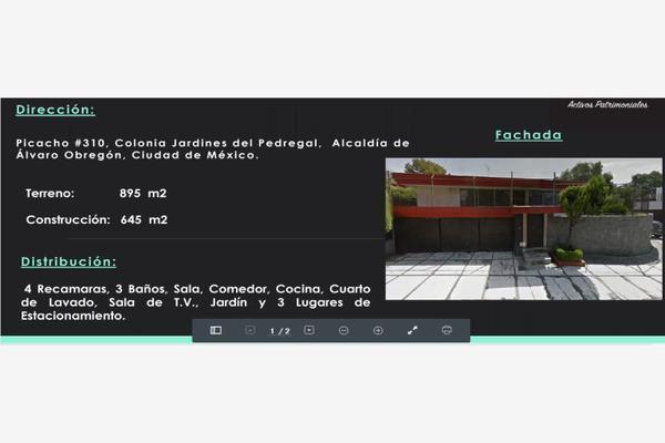 Foto de casa en venta en picacho 310, jardines del pedregal, álvaro obregón, df / cdmx, 7148238 No. 01