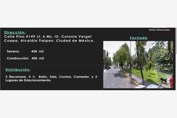 Foto de casa en venta en pino 149, vergel coapa, tlalpan, df / cdmx, 8190310 No. 01