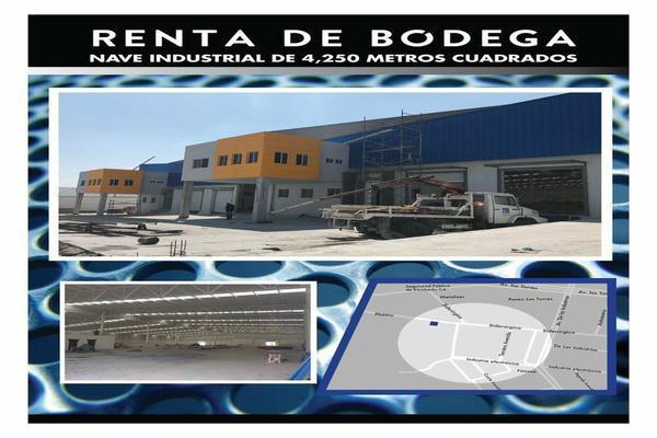 Foto de bodega en renta en platino , parque industrial i, general escobedo, nuevo león, 7305435 No. 01
