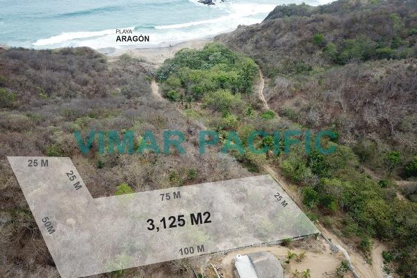 Foto de terreno habitacional en venta en playa aragon , el samaritan tonameca, santa maría tonameca, oaxaca, 5405041 No. 06