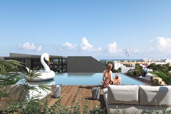 Foto de departamento en venta en  , playa del carmen centro, solidaridad, quintana roo, 14032783 No. 08