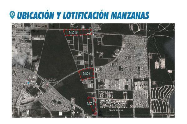 Foto de terreno comercial en venta en  , playa del carmen centro, solidaridad, quintana roo, 14032871 No. 01