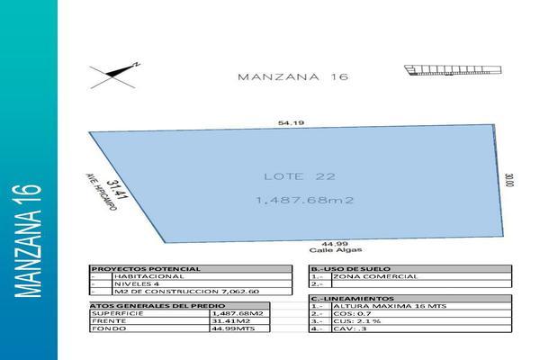 Foto de terreno comercial en venta en  , playa del carmen centro, solidaridad, quintana roo, 14032871 No. 03