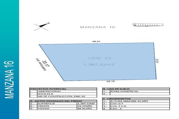 Foto de terreno comercial en venta en  , playa del carmen centro, solidaridad, quintana roo, 14032871 No. 04