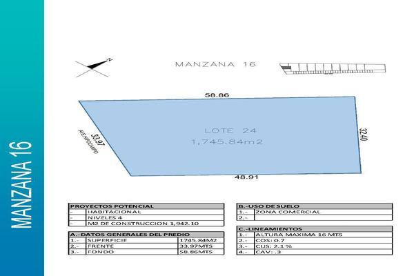 Foto de terreno comercial en venta en  , playa del carmen centro, solidaridad, quintana roo, 14032871 No. 05