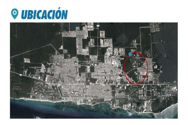 Foto de terreno comercial en venta en  , playa del carmen centro, solidaridad, quintana roo, 14032871 No. 06