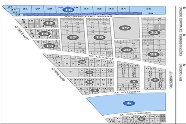 Foto de terreno comercial en venta en  , playa del carmen centro, solidaridad, quintana roo, 14032871 No. 08