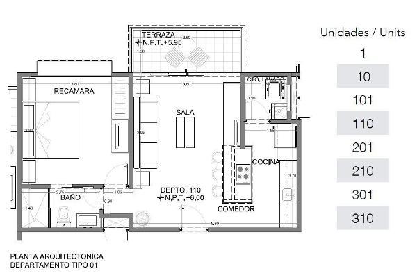 Foto de casa en venta en  , playa del carmen centro, solidaridad, quintana roo, 3086181 No. 06