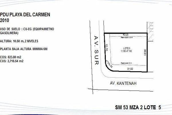 Foto de terreno habitacional en venta en  , playa del carmen centro, solidaridad, quintana roo, 7989558 No. 02