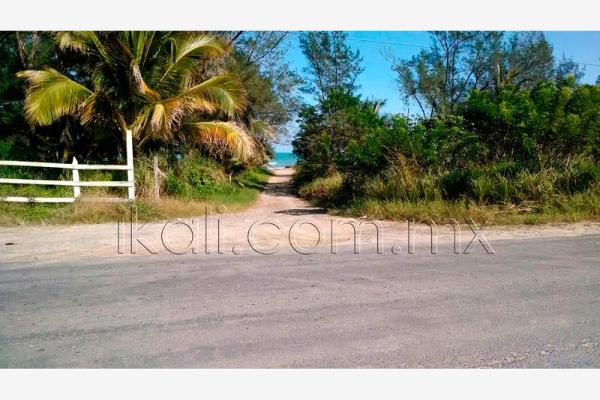 Foto de terreno habitacional en venta en junto a la termoelectrica , playa norte, tuxpan, veracruz de ignacio de la llave, 2706549 No. 02