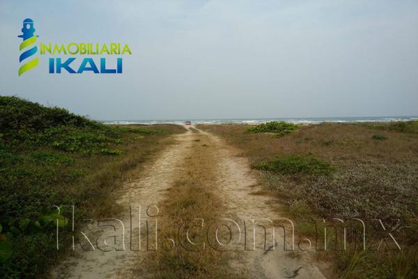 Foto de terreno habitacional en venta en playa tamiahua , tantalamos, tamiahua, veracruz de ignacio de la llave, 7255713 No. 01