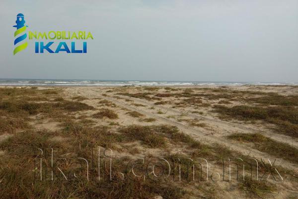 Foto de terreno habitacional en venta en playa tamiahua , tantalamos, tamiahua, veracruz de ignacio de la llave, 7255713 No. 02