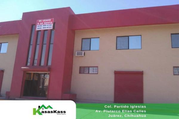 Foto de edificio en venta en plutarco elias calles 2175, partido iglesias, juárez, chihuahua, 10207407 No. 01
