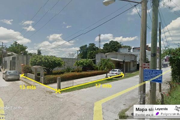 Foto de terreno habitacional en venta en  , plutarco elias calles cura hueso, centro, tabasco, 5370816 No. 01