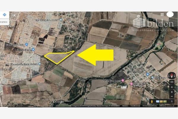 Foto de terreno habitacional en venta en  , poblado ejido benito juárez, durango, durango, 9260772 No. 01