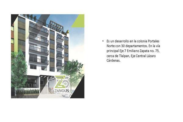 Foto de departamento en venta en  , portales sur, benito juárez, df / cdmx, 14020298 No. 02