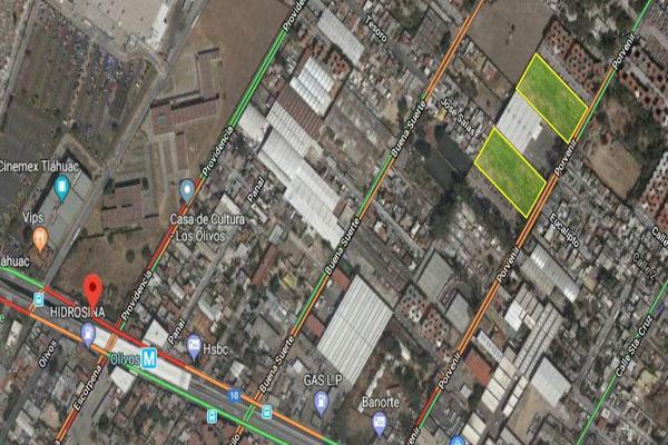 Foto de terreno industrial en venta en porvenir 207, ampliación los olivos, tláhuac, df / cdmx, 8843619 No. 01