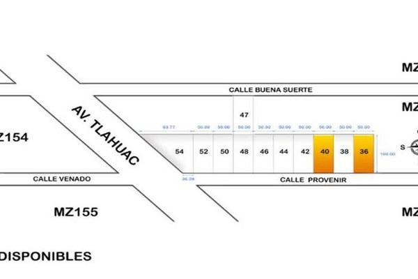 Foto de terreno industrial en venta en porvenir 207, ampliación los olivos, tláhuac, df / cdmx, 8843619 No. 02