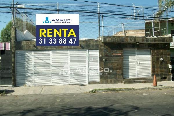 Foto de casa en renta en prados tepeyac , tepeyac, zapopan, jalisco, 5421321 No. 01