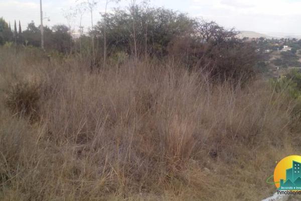 Foto de terreno habitacional en venta en  , la presa, mineral del chico, hidalgo, 8063825 No. 01