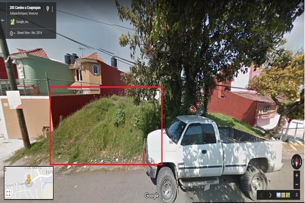 Foto de terreno habitacional en venta en principal , coapexpan, xalapa, veracruz de ignacio de la llave, 7128638 No. 01