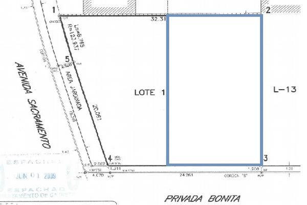 Foto de terreno habitacional en venta en privada bonita , san pedro residencial, mexicali, baja california, 15085471 No. 04