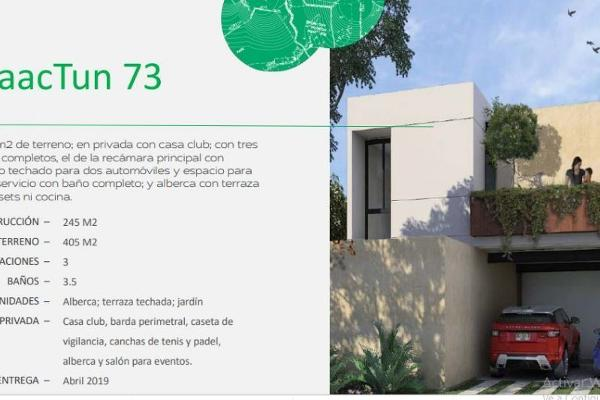 Foto de casa en venta en privada chactun , chablekal, mérida, yucatán, 6185460 No. 01