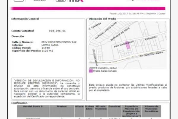 Foto de casa en venta en privada constituyentes 942, lomas de chapultepec vii sección, miguel hidalgo, df / cdmx, 0 No. 06