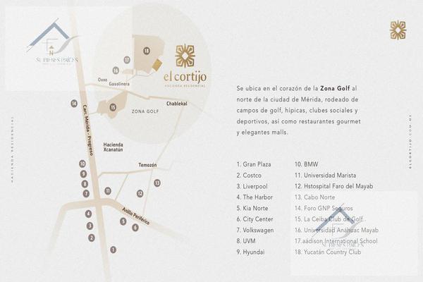 Foto de terreno habitacional en venta en  , privada cortijo, mérida, yucatán, 8883904 No. 03