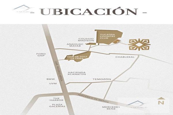 Foto de terreno habitacional en venta en  , privada cortijo, mérida, yucatán, 8883904 No. 04