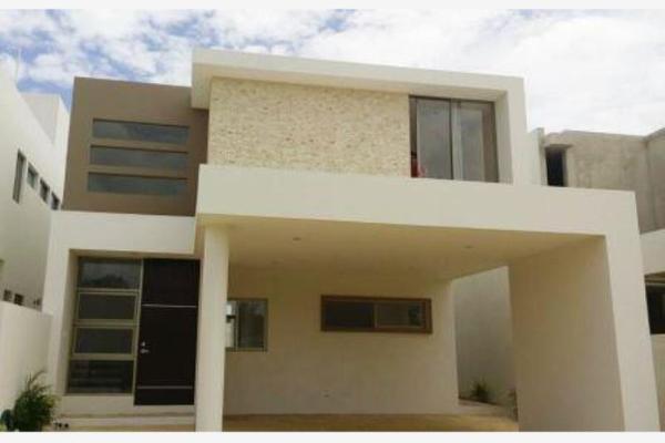 Foto de casa en venta en privada en cholul privada, cholul, mérida, yucatán, 5442801 No. 01