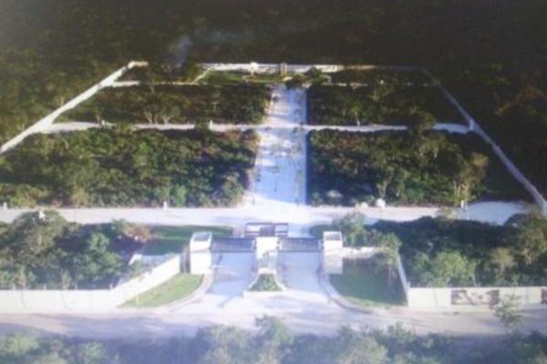 Foto de terreno habitacional en venta en privada en xcanatun xcanatun, xcanatún, mérida, yucatán, 5376668 No. 01
