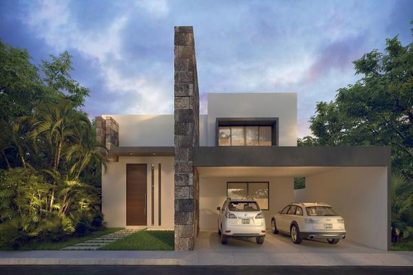 Foto de casa en venta en privada kaan , temozon norte, mérida, yucatán, 20970785 No. 01