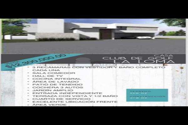 Foto de casa en venta en privada la moraleja , club de golf la loma, san luis potosí, san luis potosí, 12767234 No. 02