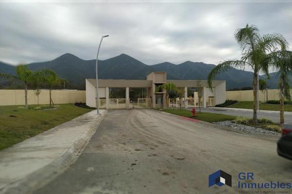 Foto de terreno industrial en venta en  , privada los franciscanos, santiago, nuevo león, 17727412 No. 02