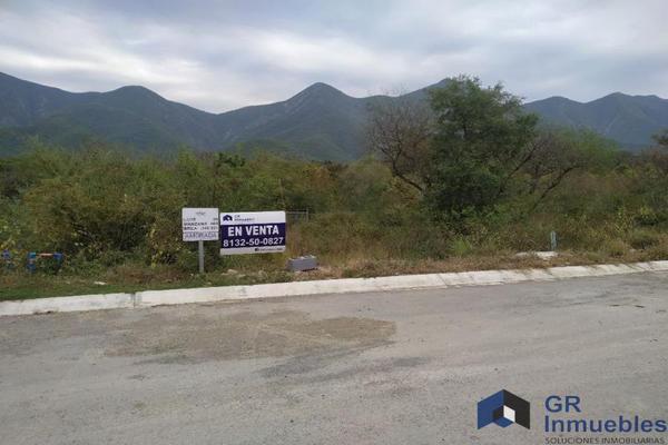 Foto de terreno industrial en venta en  , privada los franciscanos, santiago, nuevo león, 17727412 No. 03