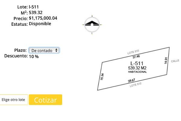 Foto de terreno habitacional en venta en privada nortemérida lotes , komchen, mérida, yucatán, 3729298 No. 03